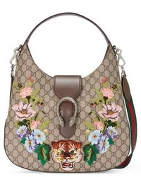 Medium dionysus tiger gg supreme canvas hobo none medium 6710953