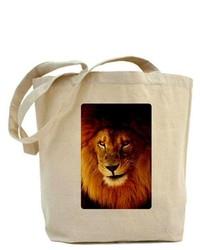 Artsmith Inc Tote Bag Male Lion Smirk