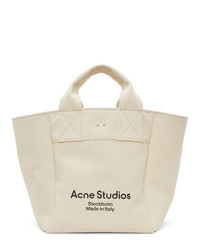Acne Studios Beige Canvas Large Tote