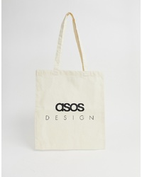 ASOS DESIGN Branded Tote Bag