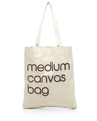 Bloomingdale's Medium Canvas Tote 100%