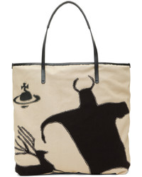 Vivienne Westwood Off White Good Life Shopper Tote