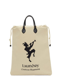 Gucci White Chateau Marmont Laundry Tote
