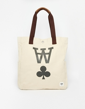 0b923e1dd78 Wood Wood Wood Wood Canvas Tote Bag   Where to buy   how to wear