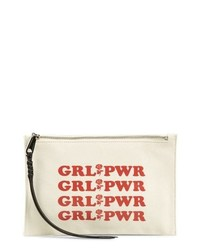 Girl power medium zip pouch medium 8685276