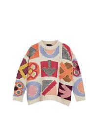Burberry Intarsia Knit Jumper