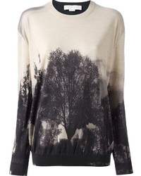 Stella McCartney Tree Print Knit Sweater