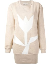 Stella McCartney Tulip Print Sweatshirt Dress