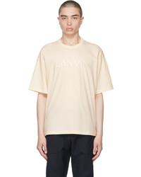 Lanvin Beige Ed T Shirt