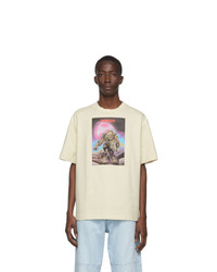 Acne Studios Beige Monster In My Pocket Edition Zombie T Shirt