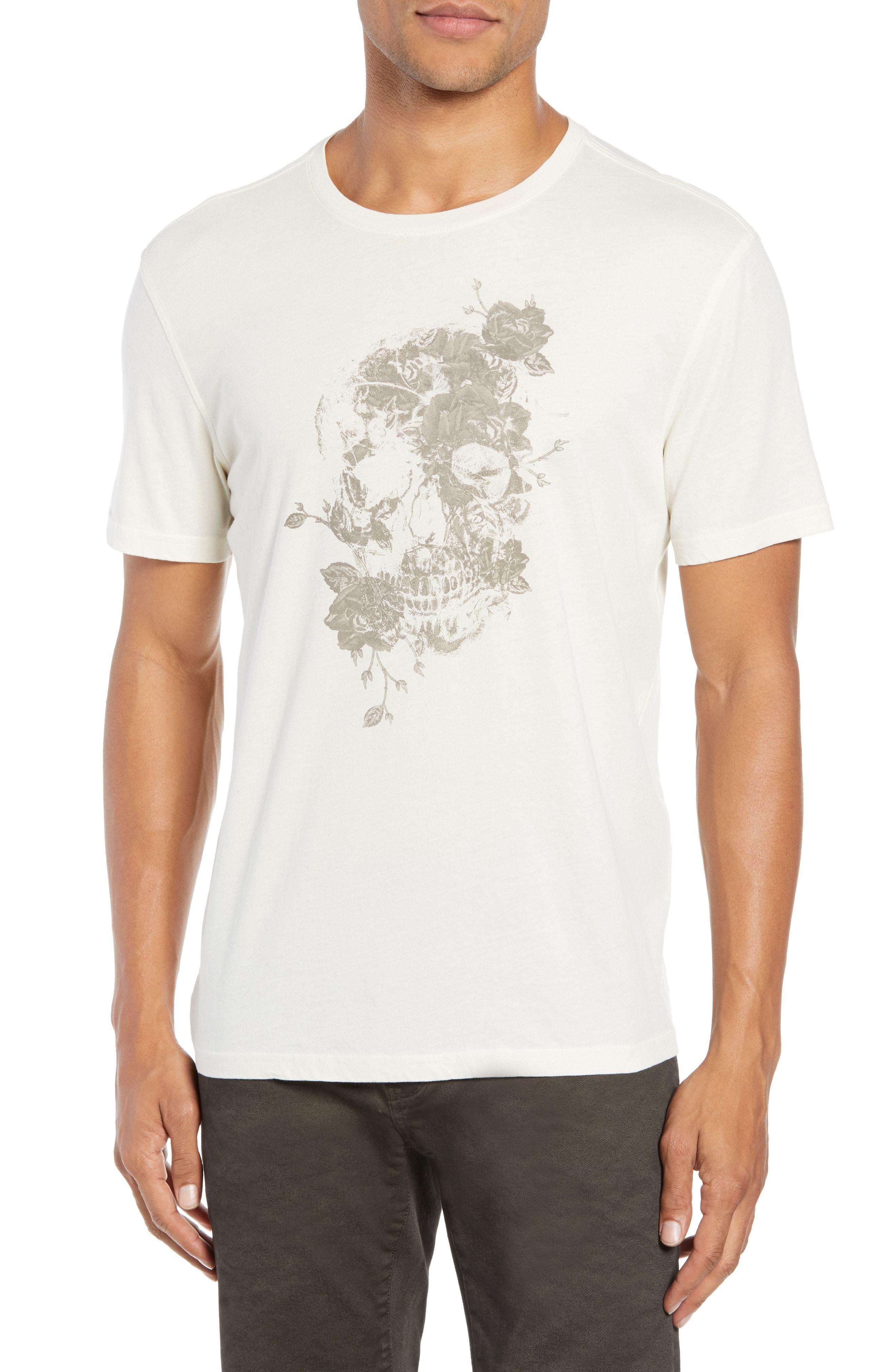 1a1ad8b6e John Varvatos Star USA Floral Skull Graphic T Shirt, $88 | Nordstrom ...