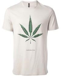 Maria hemp print t shirt medium 212916