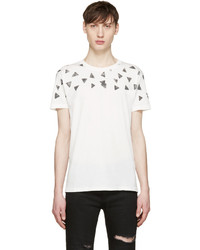 White triangle fit t shirt medium 579092