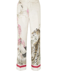 F.R.S For Restless Sleepers Etere Printed Silk Twill Pants
