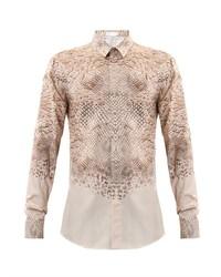 Alexander McQueen Snakeskin Print Shirt