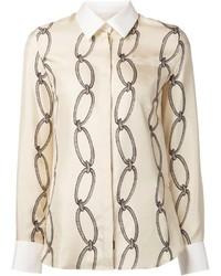 Altuzarra Chain Link Print Shirt
