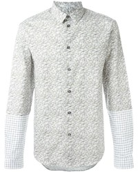 Carven Contrast Printed Shirt