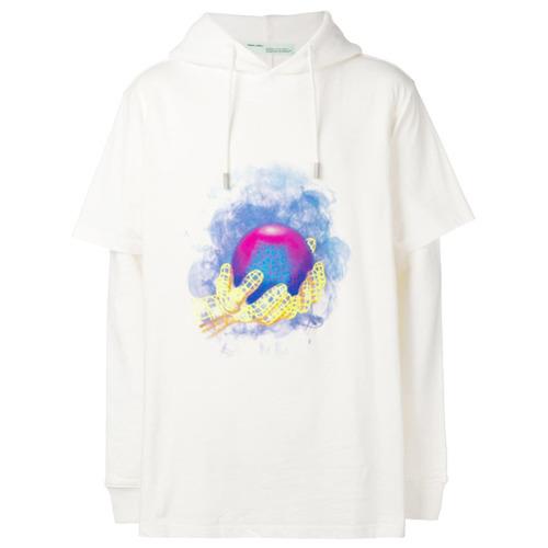 To White Buy Globe Wear Where Hoodie amp; Off Print How gTXqqS