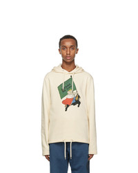 Lanvin Off White Babar Edition Printed Hoodie