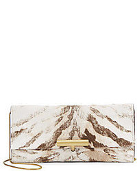 Calf hair t pin clutch medium 83075