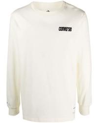 Converse Graphic Print Long Sleeved T Shirt
