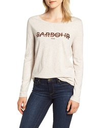 Barbour International Grandstand Logo Graphic Tee