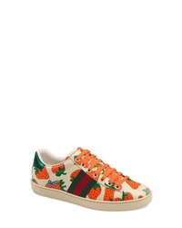 Gucci New Ace Print Sneaker