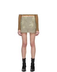Helenamanzano Beige Sea Anemone Belt Skirt