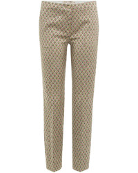 Etro Cropped Printed Pants