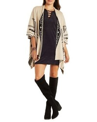 Aztec Blanket Cardigan Sweater