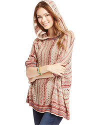 American Rag Hooded Poncho Sweater Only At Macys
