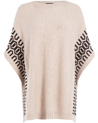 Loma Wool Cashmere Poncho