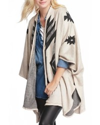 Sparrow aztec cape poncho medium 348673