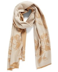 Nordstrom Graphic Floral Print Wrap