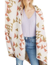 Madewell Colorblock Quilt Jacquard Scarf