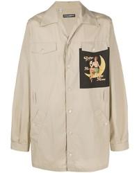Dolce & Gabbana Pin Up Patch Shirt