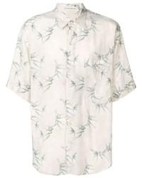Etro Leaf Print Shirt