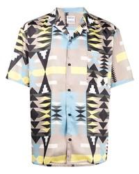 Marcelo Burlon County of Milan Navaho Hawaii Shirt