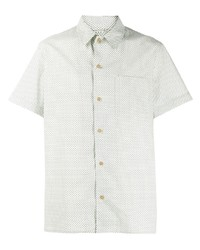 A.P.C. Polka Dot Pattern Shirt