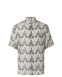 Versace Collection Printed Shortsleeved Shirt