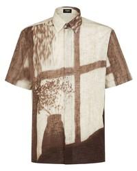 Fendi Shady Window Print Shirt