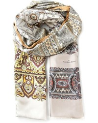 Paisley print scarf medium 372358