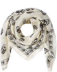 Printed silk scarf medium 726017