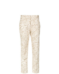 Andrea Marques Printed Skinny Trousers