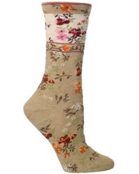 Mona linen sock medium 165073