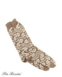 Pia rossini aspen socks beige medium 165072