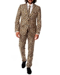 OppoSuits The Jag Trim Fit Two Piece Suit With Tie