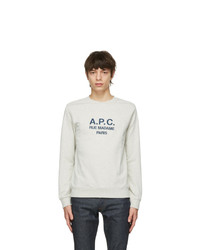 A.P.C. Beige Rufus Sweatshirt