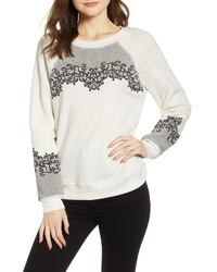 Wildfox Chantilly Lace Sommers Sweatshirt