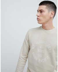 Selected Homme Sweatshirt With Graphic Print